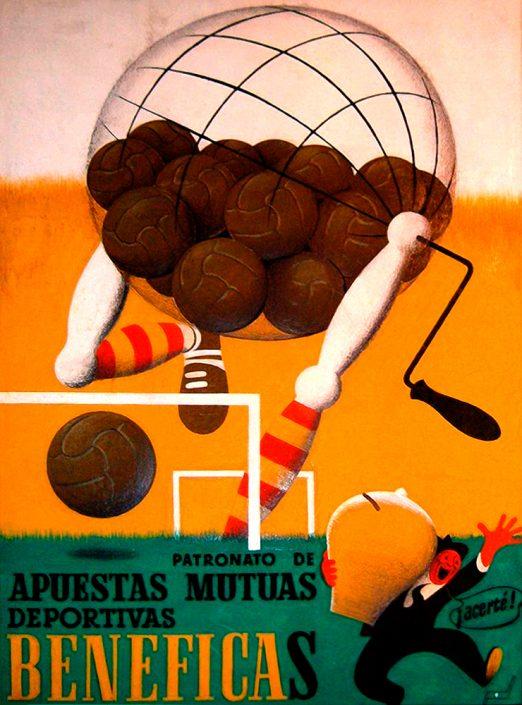Cartel publicitario Manolo Prieto