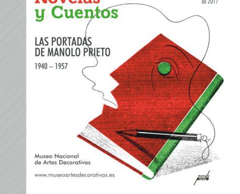 """Anuncio exposición """"Lo que cuenta Novelas y Cuentos"""" Manolo Prieto"""